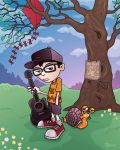 a boy and his snail by fizzgig