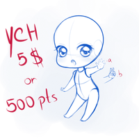 YCH Chibi 1 (CLOSED) by Nanaiko