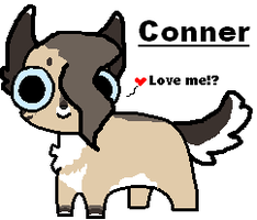Conner - Newest character OwO by PI0SON