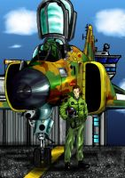 F-4 PHANTOM new by Maverick-21