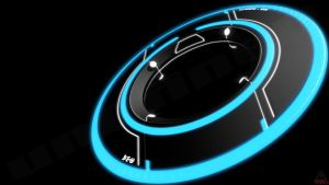 Tron Legacy Disc (Textured) by unDfineD