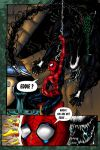 Aliens vs Spider-man by Pickador