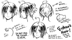 A guide to E-chan's Hair by Cioccolatodorima