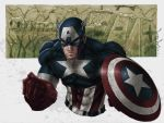 Captain America WWII Color by LordWilhelm