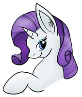 Rarity x3 by CKittyKat98