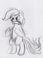 Rainbow angry sketch by otto720