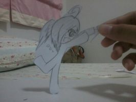 Stickman in my Finger :3 [6] by PapiGa2012