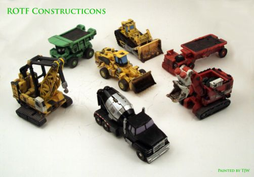 ROTF Legends Constructicons by Unicron9