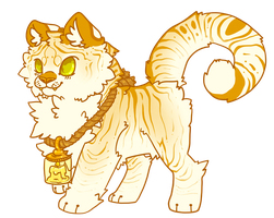 Candle Tiger -CLOSED- by BaZooKa-Kat