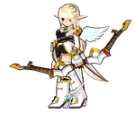 [Elsword] Grand Archer costume by Elphin-Zephyr