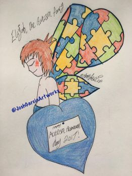 Happy Autism Awareness Day! by JoshGarciaArtworks