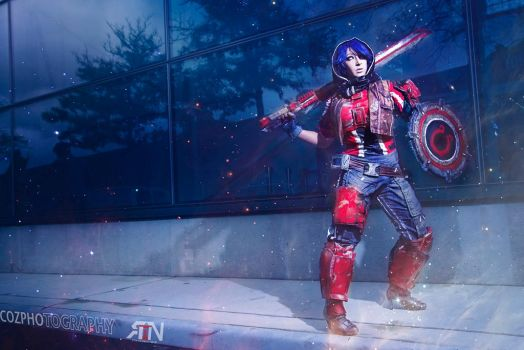 Athena Borderlands Pre- Sequel Cosplay by Its-Raining-Neon
