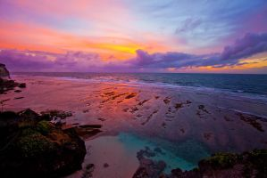 Blue Point Sunset by LifeCapturedPhoto