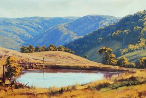 Lithgow Landscape by artsaus