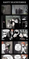 Happy Deathvember - Comic by Fivey