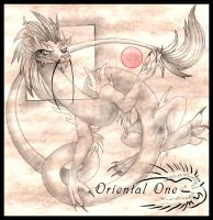 Oriental One - Dragon by spatialchaos