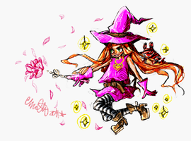 SSR - floral spell by the-star-samurai