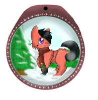 Bell Ornament by KittenthePsycho