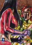 DC Comics Epic Battles - Maxima vs Star Sapphire by KennyGordon