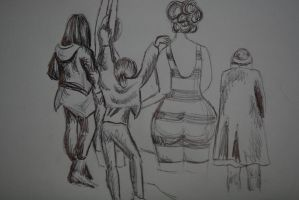 13. A group picture by turah