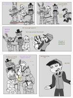 Merry Christmas, My Friends Pg.1 by CardboardDreamCube