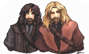 The Hobbit: Kili and Fili by ObsessivePessimist