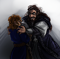 you! you! / Big Ol hobbit ending spoilersss by murr-ma-ing