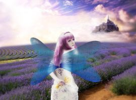 Lavender`s Fairy by bcamelier