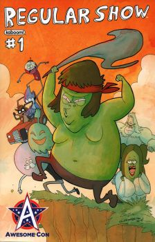 Regular Show Exclusive Cover by IDComics