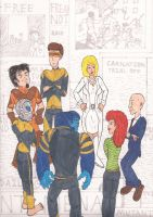 New X Men #135: Now In Color by magusVroth