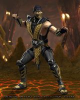 Mortal Kombat: Scorpion by republic190