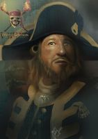 Captain Barbossa by ArtFurry