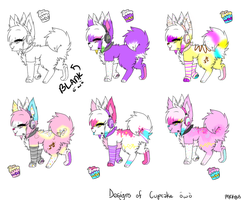 Cupcake's designs by CuppycakeSprinkles