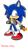 Sonic ID by alinathecat12