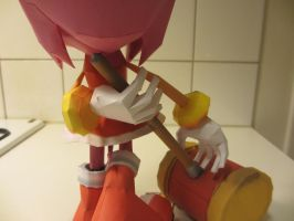 detail of amy rose's hands by minidelirium
