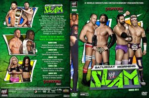 WWE Saturday Morning Slam March 2013 DVD Cover by Chirantha