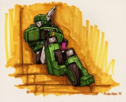 Hound - Colored and Chillin' by Ha-HeePrime