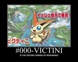 Victini poster by TPPR10