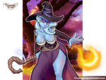 A Great and Powerful Sorceress! by CreamyGravy