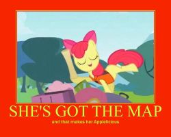 Applelicious Motivational Poster by CartoonAnimes4Ever