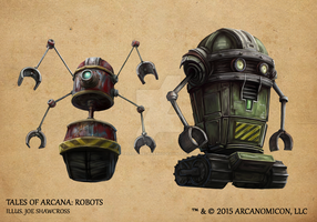 Tales of Arcana 1st Set - Robots by TalesofArcanaRPG