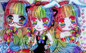 ++THE RAINBOW SISTER_2++ by marmaladematrix