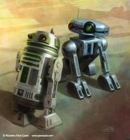 Star Wars RPG: Droids by jasonjuta