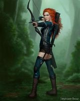 Royal Force - Merida by OffbeatWorlds