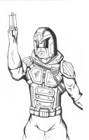 Judge Dredd by 2numb2relate