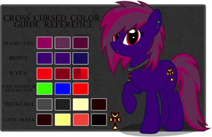 Cross Cursed Color Guide by Rayne-Feather