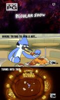 Regular Show- Eggs by DancetilDawn7
