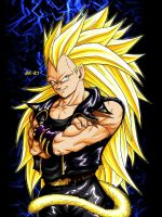 Vegeta ssj3 edited by BK-81