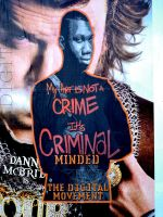 My Art is Criminal Minded by d1g1talco