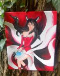 Painting of ahri by astre90